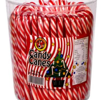 W72 - Candy Canes Jar 50 x 15g (Small)
