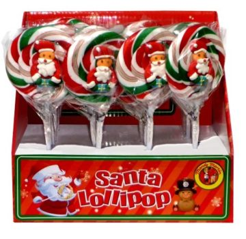W81 - Santa Lollipop 50g (Small)